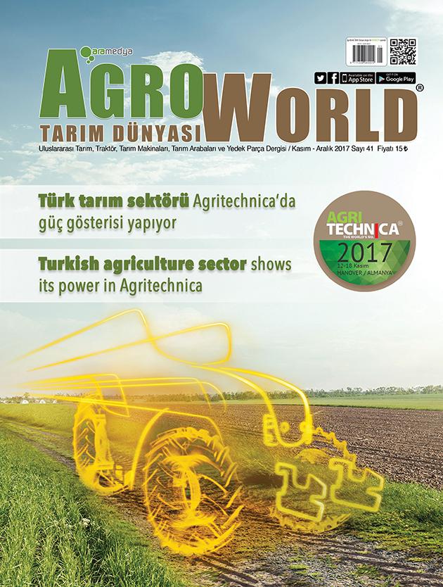 AgroWorldDergisi Temmuz - Ağustos 2017 sayısı