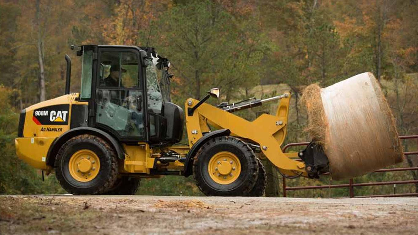 Caterpillar M Series Ag Handler compact wheeled loaders